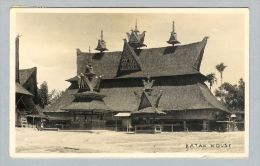 AK Asien Indonesien Brastagy 1933-03-17 SW-Foto Batak Hous - Indonésie