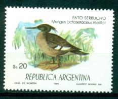"Argentine / Argentina 1984 "" Hors Série:  Harle Huppard Ou Harle Du Brésil "" Mnh*** - Otros"