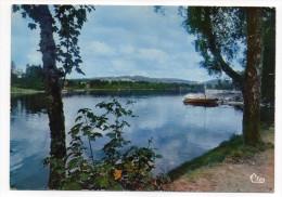 Montsauche Les Settons--Lac Des Settons (appontement Bateaux) Cpm N°1433  éd  Combier - Montsauche Les Settons