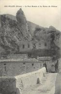 Depts Div -drome -ref AA503- Les Pilles - Le Pont Romain Et Les Ruines Du Chateau  - Carte Bon Etat  - - France