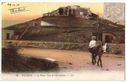 Bizerte (Tunisie) Le Vieux Fort De Sidi Sahlem - LL 43 - Colorisée - écrite - Tunisie