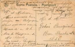 Poperinge - Guerre 14/18 - Ruines Rue du Faucon