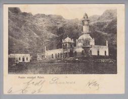 AK Asien Jemen Aden Arabermarkt 1902-12-06 Foto Moschee - Yémen