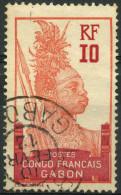 Gabon (1910) N 37 (o) - Non Classés