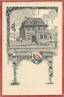 "67 - STRASSBURG - STRASBOURG - Carte D´ étudiant - "" Wilhelmitana "" - Studentika - Strasbourg"