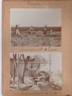 AK ASIEN CHINA TIENTSIN Ca 1908 Private Reisefoto Auf Karton - Chine