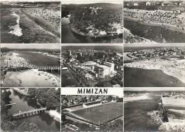 DEPT 40 - MIMIZAN - MULTIVUES - 9 Vues Aérienne De La Ville - VAN - - Mimizan