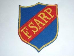AVIRON BLASON FAIT MAIN - FSARP Fait Main Ancien 02 - RARE - COQ FRANCE ECUSSON TISSU SPORT BATEAU - Aviron