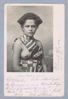 AK Ozeanien Samoa 1902-02-09 Junges Mädchen Foto Weidmann - Samoa