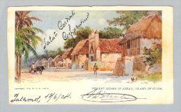 AK Ozeanien Guam 1904-06-13 Litho W.R. Hearst - Guam