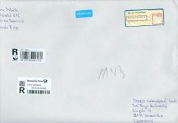 Tschechische Republik Pozorice R-Brief Automaten-Label 2015 68 Kr. Prioritaire - Tschechische Republik