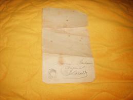 LETTRE DE 1896. / DIRECTION GENERALE DE L'ENREGISTREMENT DES DOMAINES ET DU TIMBRE / CACHET TAUVES POUR LARODDE.. - Marcophilie (Lettres)