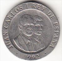 ESPAÑA 1992. 200 PESETAS .PORTADORN ANTORCHA   MADRID CAPITAL CULTURAL EUROPEA  .SIN CIRCULAR.RARA . CN 4284 - 200 Pesetas