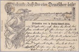 AK Afrika NAMIBIA 1906-06-07 Outjo Weihnachten 1905 In Deutsch Südwest Afrika - Namibie