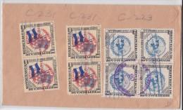 HONDURAS - La Lima - Cortés - Air Mail Cover 1956 To Hollywood - 8 Stamps - Honduras