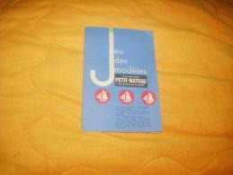 PUBLICITE JEU DES MODELES SOUS VETEMENTS PETIT BATEAU DATE ?. - Publicités