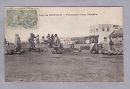 AK DJIBOUTI Porteuses D'eau Somalis Foto - Djibouti