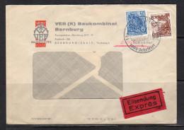 Mi. 457 Express Baukombinat Bernburd 1961 (d102) - DDR