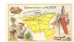 Image Bon Point Département D'Alger Des Années 1950 - Non Classificati