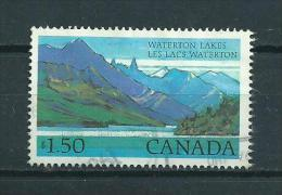 1982 Canada $1,50 Waterton Lakes Used/gebruikt/oblitere - 1952-.... Regering Van Elizabeth II
