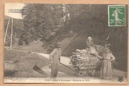 LES CEVENNES PITTORESQUES -- 1708 -Dans La Montagne - Descente Du Bois -- C. Artigue Fils, éditeur, Aubenas (Ardèche) - France