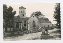 CPSM: 71 - SENNECEY-LE-GRAND   -  EGLISE St JULIEN ET VIEUX PUITS - France