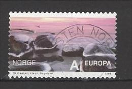 NORWEGEN - Mi-Nr. 1683 Tourismus Ufersteine Bei Revtangen/Klepp Gestempelt (2) - Norvège