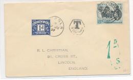 Kenia/Uganda   Alter Brief  Nachporto      ( Bc6029 ) Siehe Scan  ! - Ouganda (1962-...)