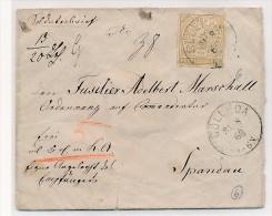NDP. Altbrief EF.6    -   ( Bc6070 ) Siehe Scan  ! - Norddeutscher Postbezirk
