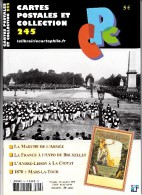 Revue - CPC N° 245 - Marche De L'armée - France à L'expo De Bruxelles - L'André Lebon à La Ciotat - 1870 : Mars La Tour - Français