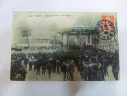 2yzp - CPA  N°143 -  TOULON - Place D'armes Et La Musique - [83] - Var - Toulon