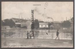 71 - LE CREUSOT- Etang De La Forge--animé - Le Creusot