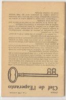 "ESPERANTO : Mini Brochure 32 Pages ""Clef De L'esperanto"" - Historical Documents"