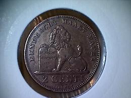 Belgique 2 Centimes 1905 VL - 02. 2 Centimes