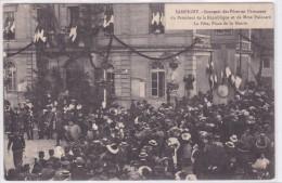 Sampigny Souvenir Des Fêtes En L'honneur Du Président De La République Et De Mme Poincaré La Fête Place De La Mairie - Non Classés