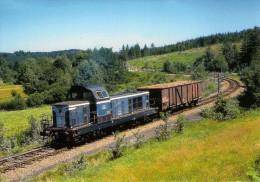 CPM LE RAIL USSELLOIS N° 223 BB 66283 Près De CROS LES GANNES SORNAC ST REMY 19 - Trenes