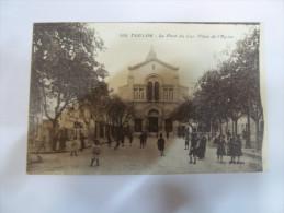 2zad - CPA  N°116 -  TOULON - Le Pont Du Las - Place De L'église - [83] - Var - Toulon
