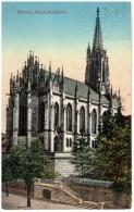 CPA Schweiz/Suisse: Basel - Elisabethenkirche, 1913, 2 Scans - BS Bâle-Ville