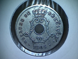 Belgique 5 Centimes 1905 FR - 1865-1909: Leopold II