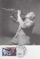 Carte Maximum  1er  Jour   Artiste De   JAZZ     Sidney    BECHET    2002 - Musique