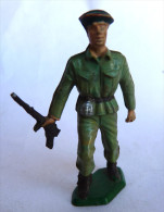 FIGURINE STARLUX -  RARE SOLDAT WWII BERET VERT (5070) CHARGEANT 1959 - Starlux