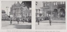 1922 - TARNOWITZ (Pologne) - Drapeaux Français, Anglais Et Italiens - No Postcard - Non Classés