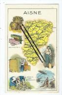 Image - Aisne - Laon-Soissons- Chateau Thierry - St Saint Quentin - Vervins- Guise- Ribemont...etc.... - Vieux Papiers