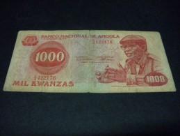 ANGOLA 1000 Kwanzas 14/08/1979,pick N° 117,ANGOLA - Angola