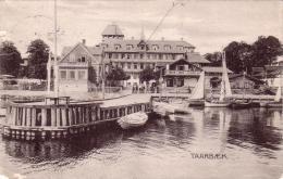 ALTE AK  TAARBAEK / Dänemark  - Hafenansicht -  1911 Gelaufen - Denmark