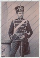Foto photo Totenkopf LeibHusaren Regiment mit Fellm�tze Uniform
