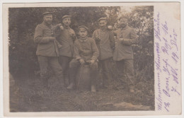 Soldaten-Portrait, Infanterie-Regiment 16, Frankreich, Feldpost, Fotokarte, Milit�r-Postkarte, WWI