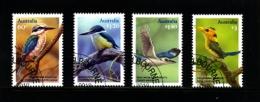 AUSTRALIA - 2010  KINGFISHERS  SET  FINE USED - 2010-... Elizabeth II