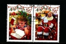 AUSTRALIA - 2010  CHRISTMAS  PAIR  FINE USED - 2010-... Elizabeth II