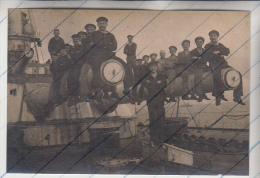 955559 Foto Photo WWI Scapa Flow Internierung SMS Großer Kurfürst Ship Schiff - Boten